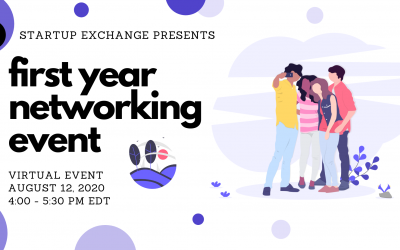 Startup Exchange's First Year Virtual Networking Event