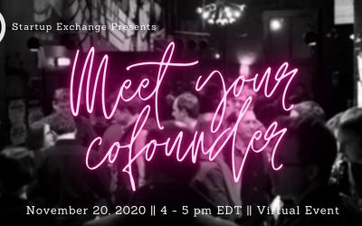 Meet Your Co-founder Networking Event