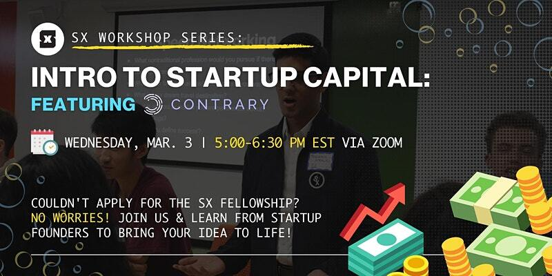 Introduction to Startup Capital with Contrary Capital