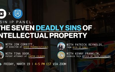 The Seven Deadly Sins of Intellectual Property: Panel with NSIN